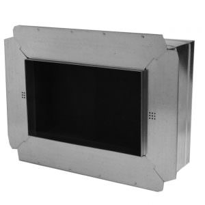Insulated Box With Flange & Ductboard Backing With R6 or R8 Insulation