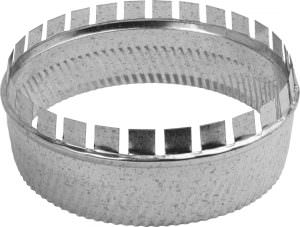 Metal A Collar 3″ with Crimp