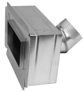Insulated Box with Flange and Angle Collar