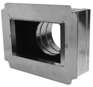 Insulated Box with Flange 4″ Tall
