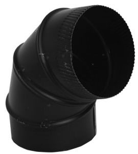 Black Adjustable Elbow