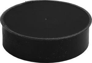 Black Cap Large End with No Crimp