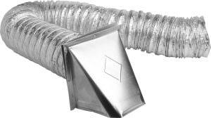 Aluminum Dryer Vent Kit